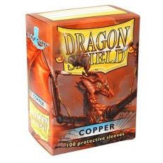 Protektory miedziane Cooper (Dragon Shield, 100 sztuk)