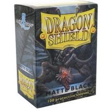 Protektory MATOWE Czarne(Dragon Shield, 100 sztuk)